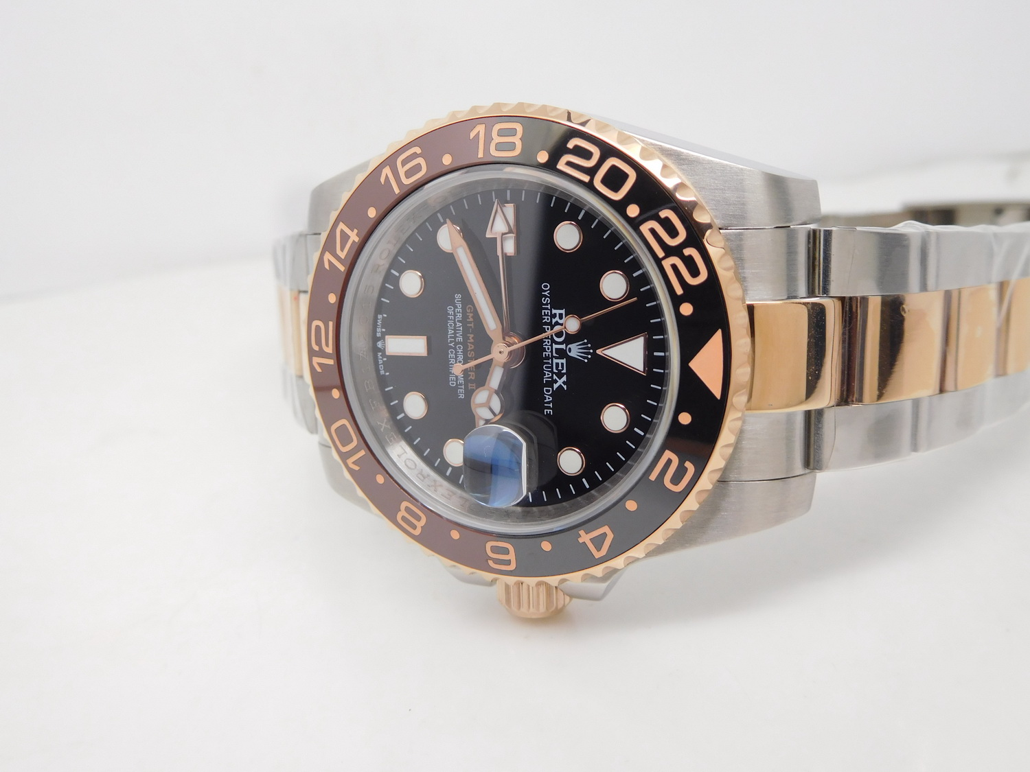 Replica Rolex GMT Master II 126711 Two Tone