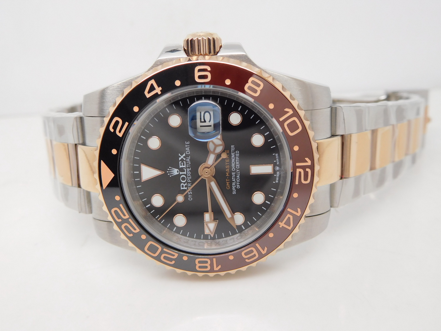 Replica Rolex GMT Master II Brown Black
