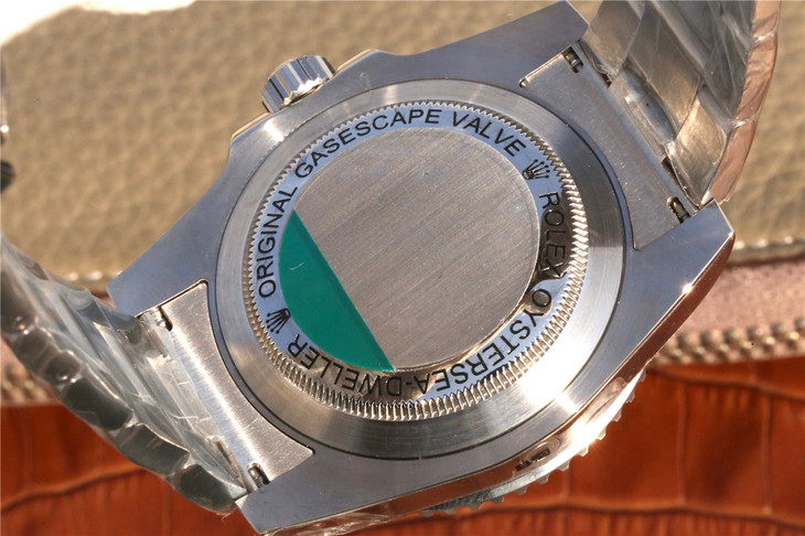 Rolex Sea-Dweller D-Green Case Back