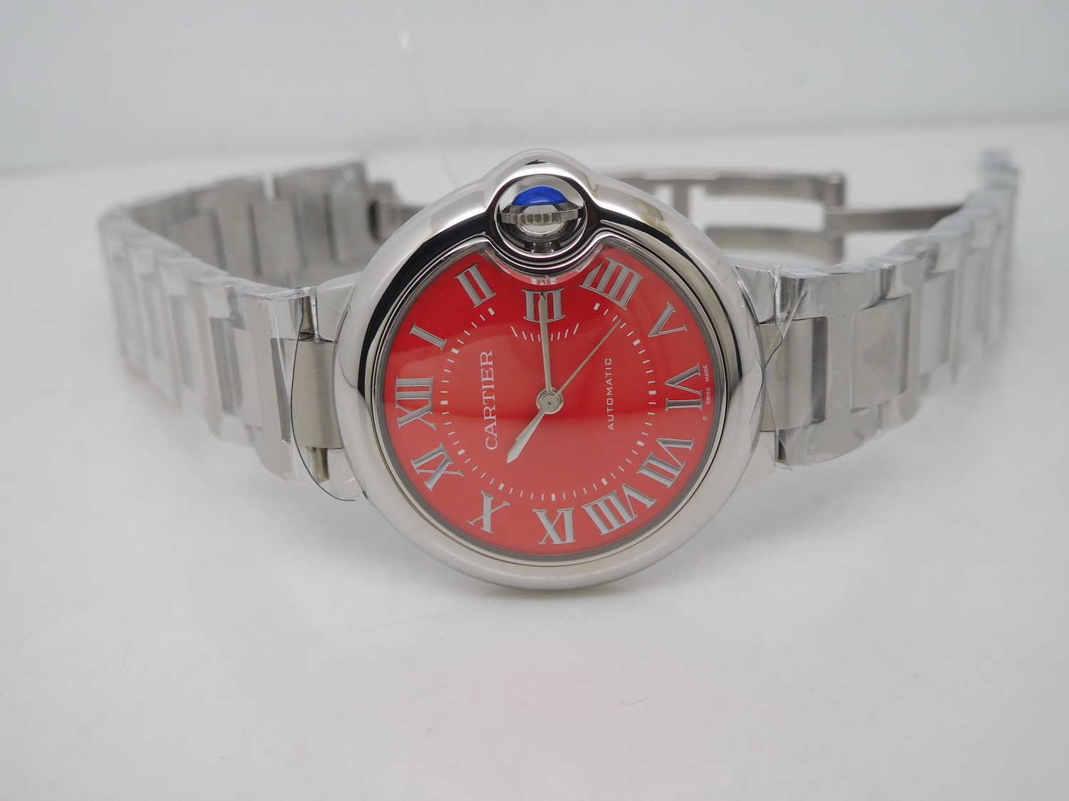 J12 Replica Cartier Ballon Bleu Red