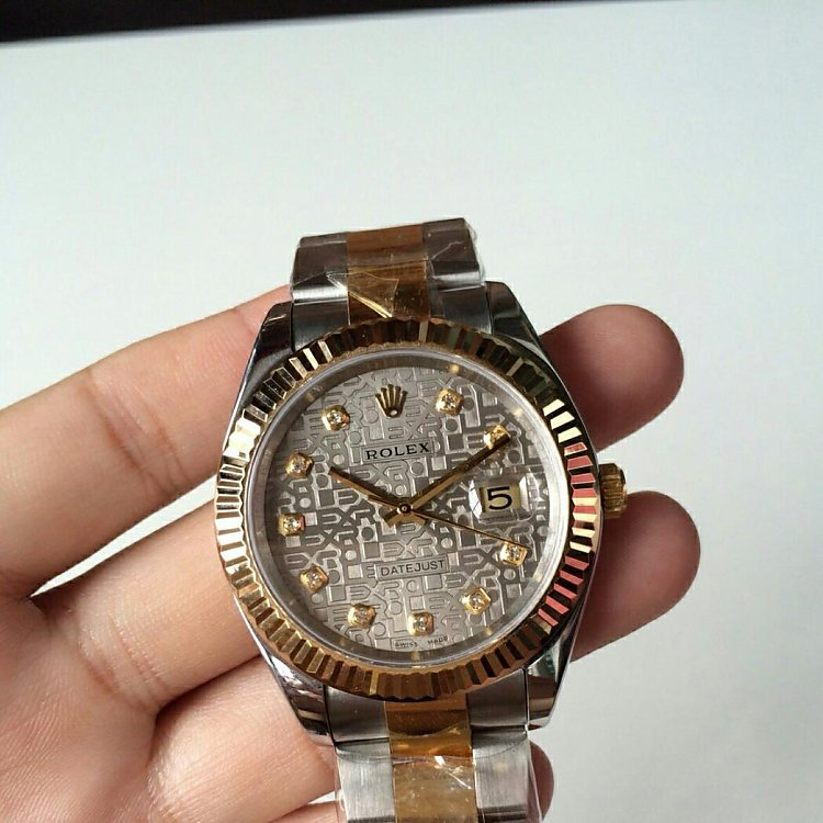 Replica Rolex Datejust Yellow Gold 18K