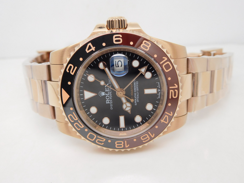 Replica Rolex GMT Master II Basel 2018 Rose Gold