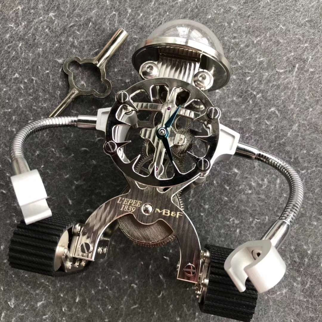 MB&F Sherman Happy Robot Clock