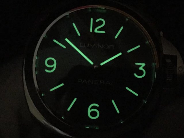 PAM 773 Dial Lume