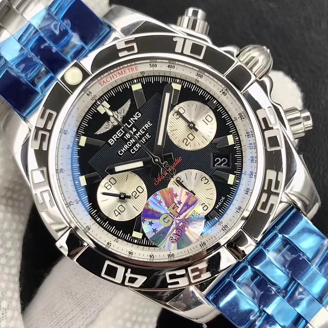 Replica Breitling Chronomat B01 AB0110 Black Dial