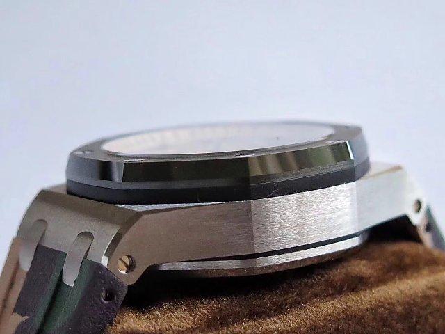 Audemars Piguet Combat Brushed Steel Case