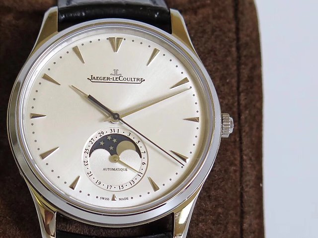 Jaeger LeCoultre Moonphase Silver Dial
