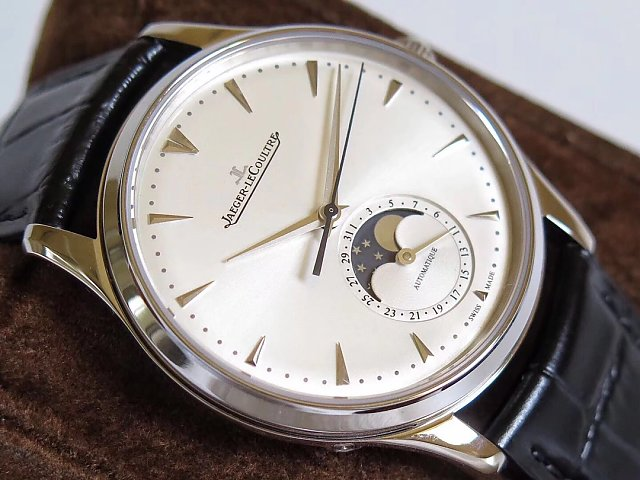Jaeger LeCoultre Moonphase Steel case