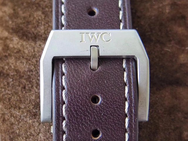 Replica IWC Mark XVIII IW327006 Brown Leather Strap