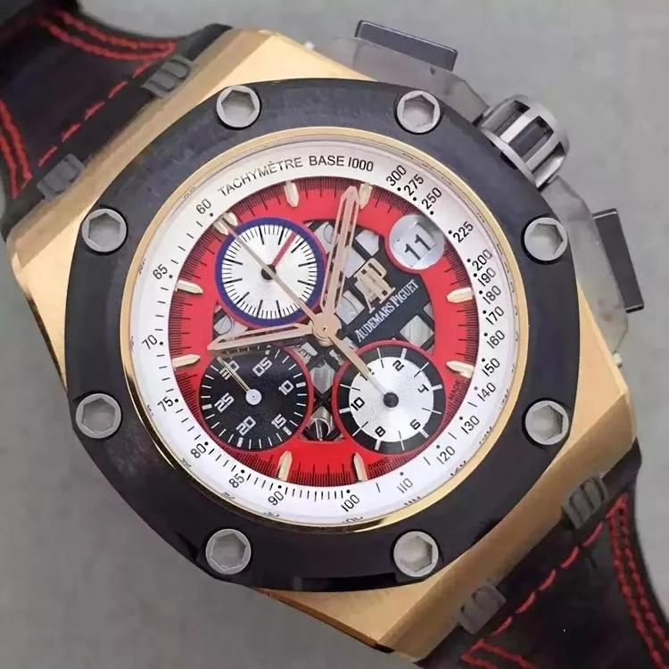 Audemars Piguet Rubens Barrichello III Red Dial