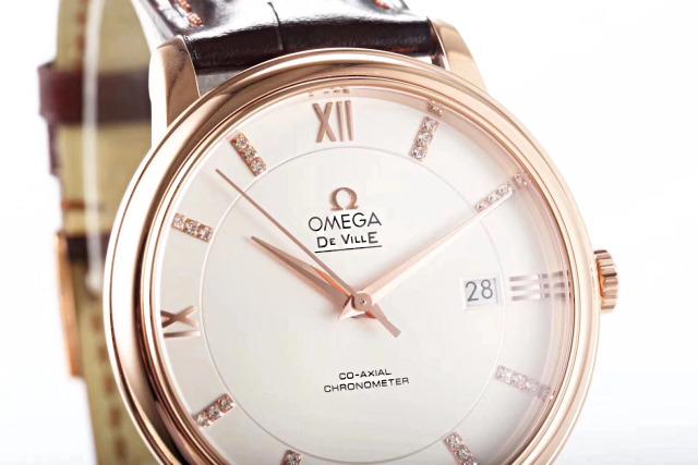 MKS Omega De Ville Rose Gold