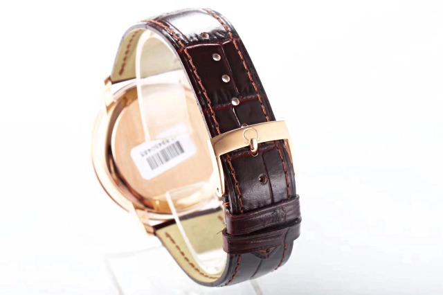 Omega De Ville Brown Leather Band