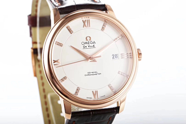 Omega De Ville Rose Gold Case