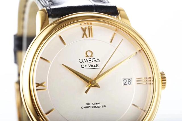 Omega De Ville White Dial