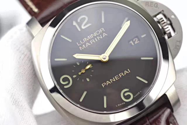 PAM 351 Grey Dial