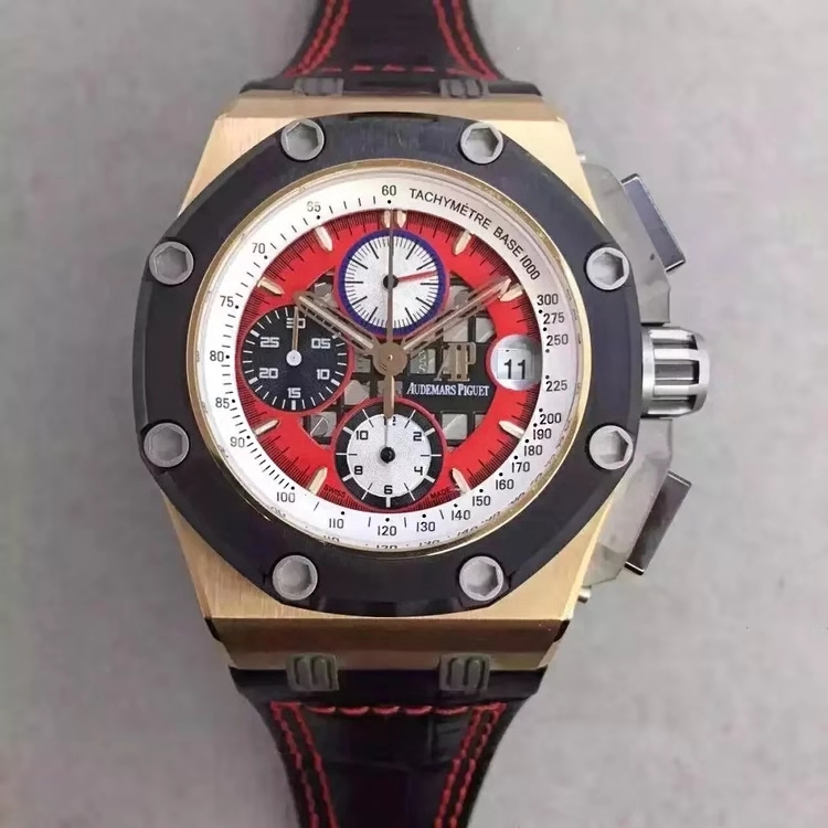 Replica Audemars Piguet Royal Oak Offshore Rubens Barrichello III