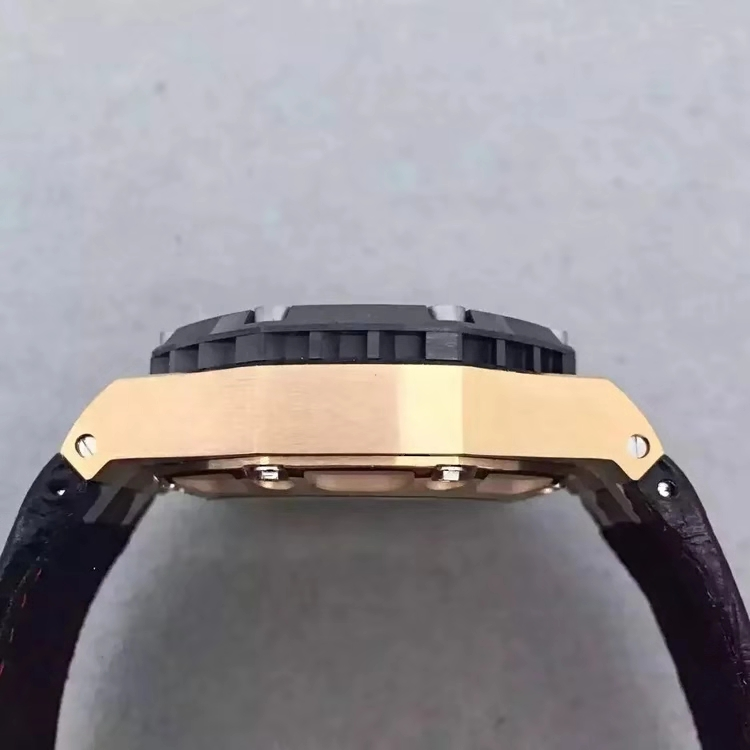 Replica Audemars Piguet Rubens Barrichello III Rose Gold