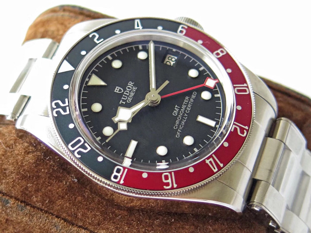 Tudor Blue Red Bezel
