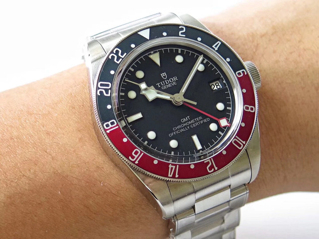 Tudor GMT Watch Wrist Shot