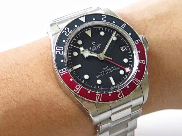 Tudor GMT Watch Wrist Shot