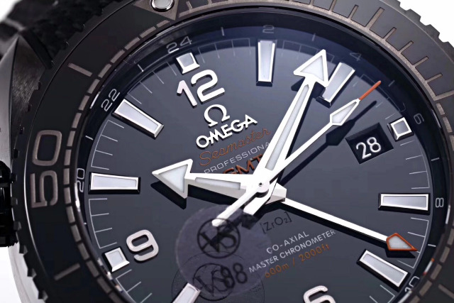 VS Replica Omega Planet Ocean Black Ceramic Dial