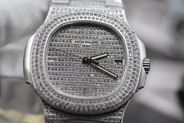 Replica Patek Philippe Nautilus Diamond Dial