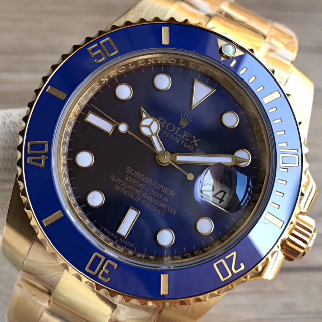 VR Replica Rolex Submariner Blue Dial