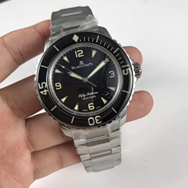 Replica Blancpain Fifty Fathoms Black