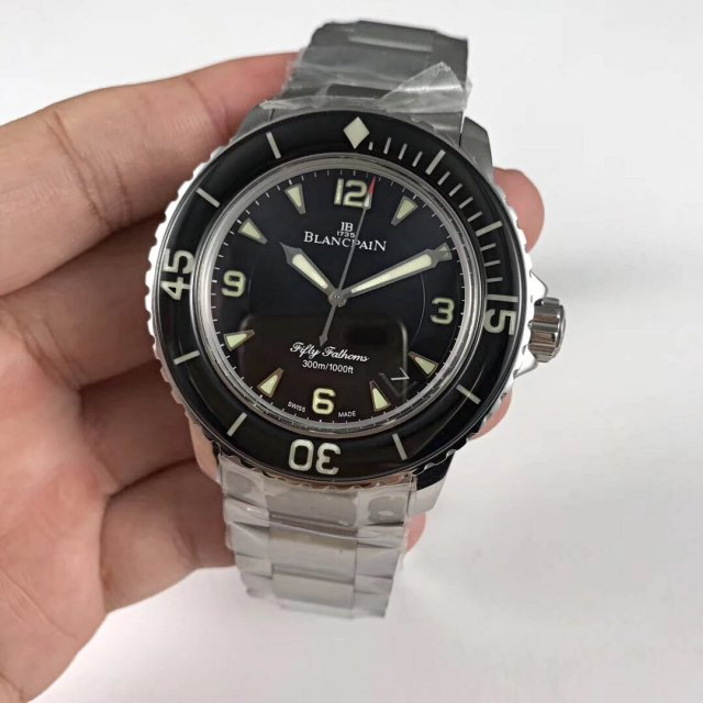 Replica Blancpain Fifty Fathoms Stainless Steel