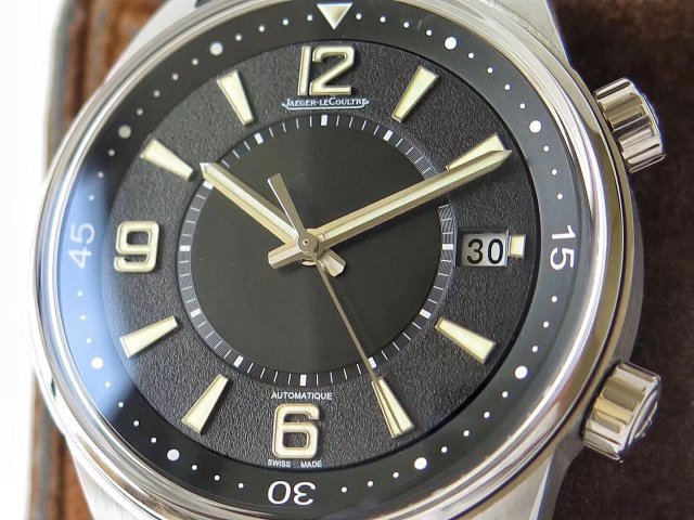 Jaeger LeCoultre Polaris Black Dial