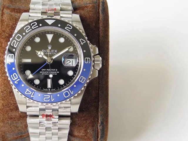 Replica Rolex GMT-Master II Black Blue Bezel