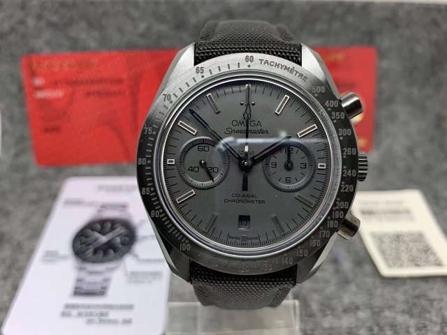 OMF Replica Omega Speedmaster Dark Side of the Moon Ceramic