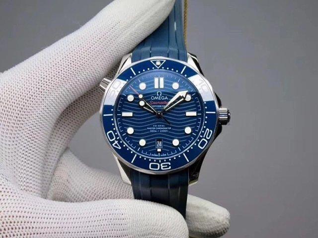 Replica Omega Seamaster Diver 300m Blue