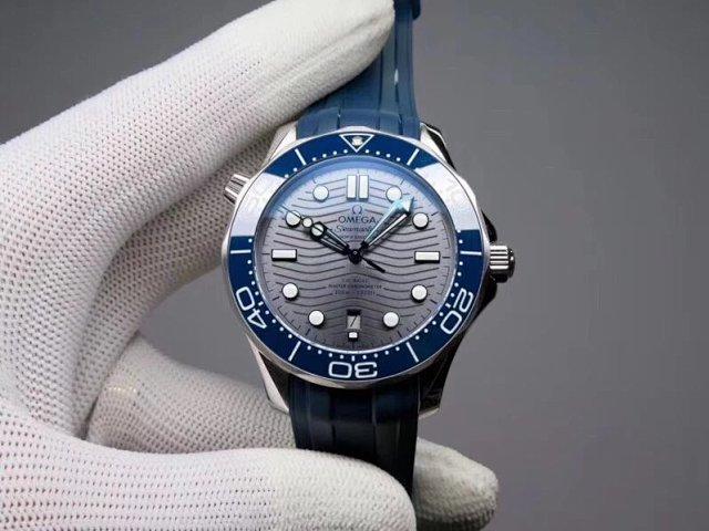 Replica Omega Seamaster Diver 300m Grey