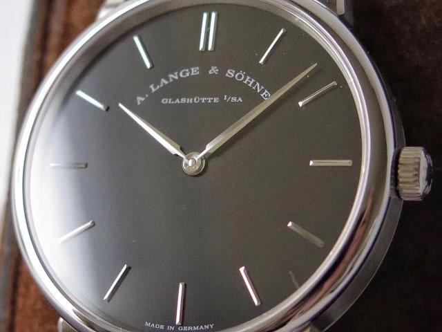 A.Lange & Sohne Saxonia Black Dial