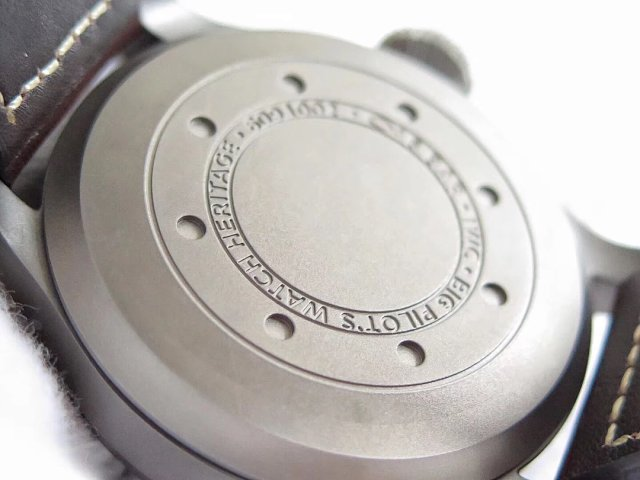 IW510301 Titanium Case Back