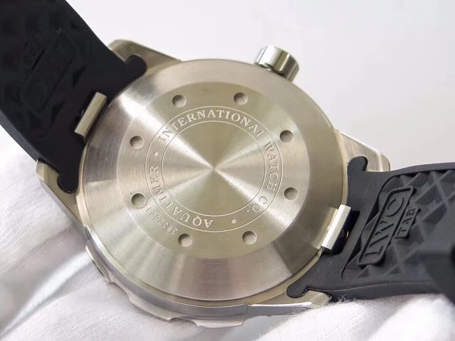 IWC Aquatimer 2000 Solid Case Back