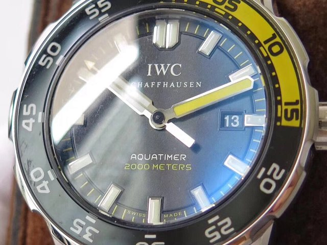 IWC Aquatimer Orange Black Bezel