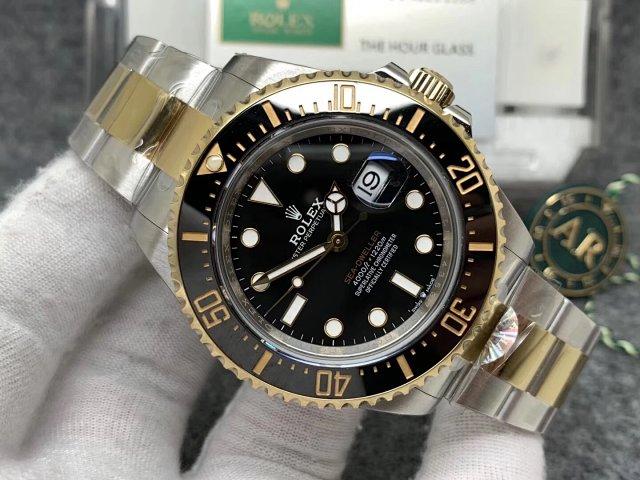 Replica Rolex 126603 Black Dial