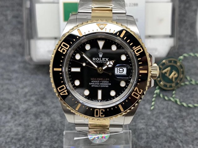 Replica Rolex Sea-Dweller 43mm Two Tone
