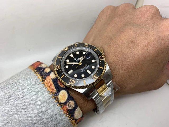 Rolex Sea-Dweller 126603 Wrist Shot