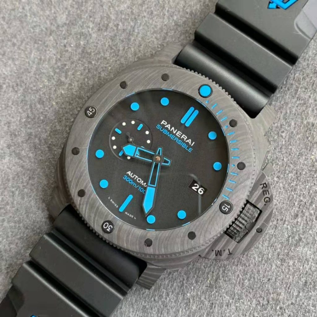 Replica Panerai Submersible Blue