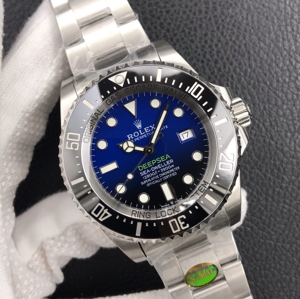 Replica Rolex Sea-Dweller DEEPSEA D-Blue