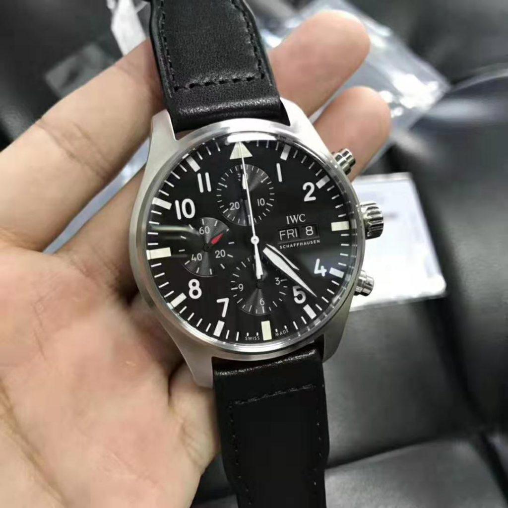 Replica IWC Pilots Watch ETA 7750 Movement