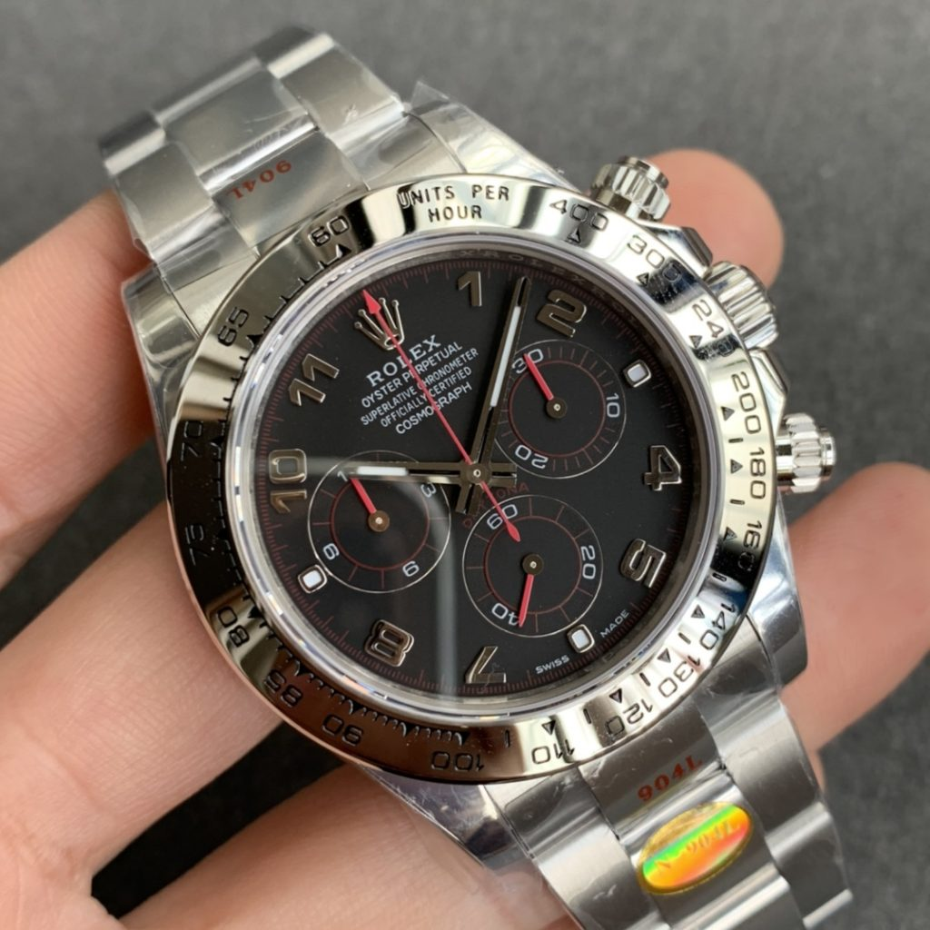 Noob Daytona Black Dial