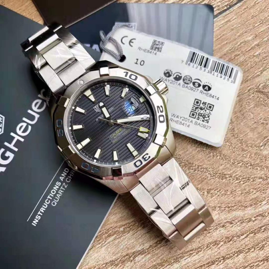 Replica Tag Heuer Aquaracer Calibre 5 300m Blue