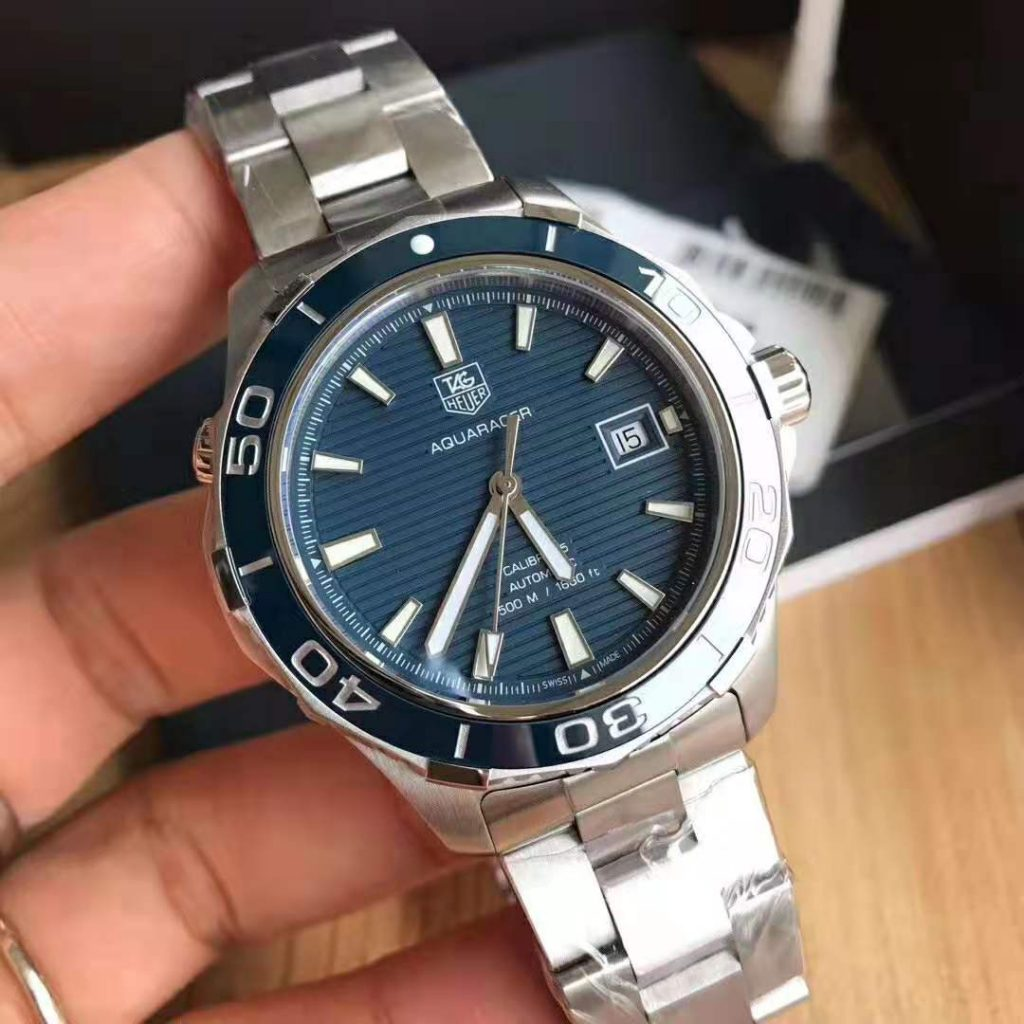 Replica Tag Heuer Aquaracer Calibre 5 500m Blue