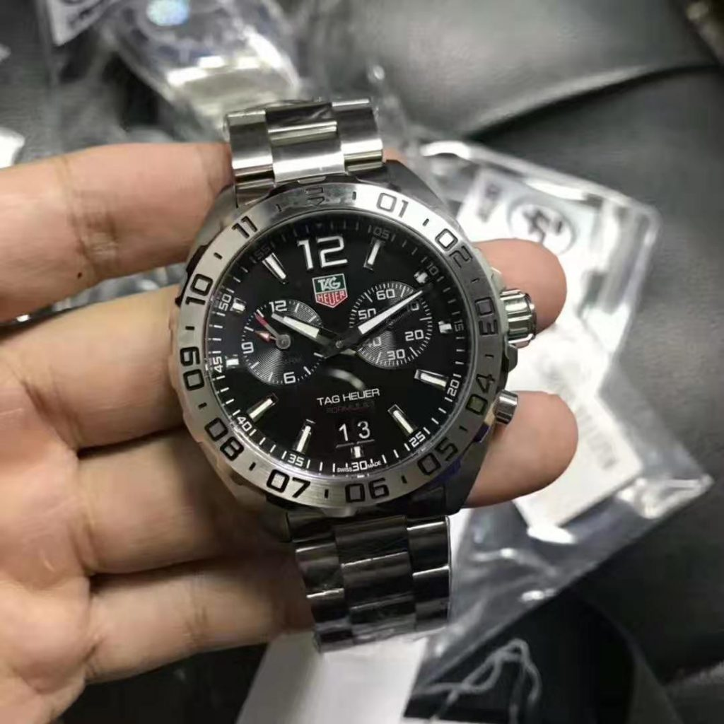 Replica Tag Heuer Formula 1 Chrono Black