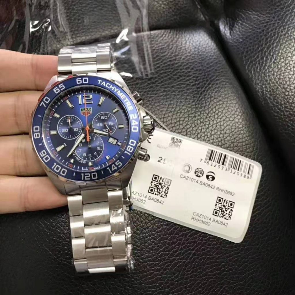 Replica Tag Heuer Formula 1 Quartz Blue