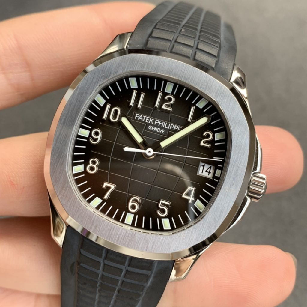 3K Factory Replica Patek Aquanaut Black